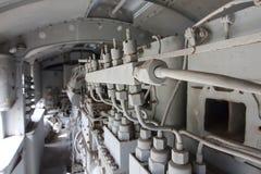 Diesel μηχανών στην ατμομηχανή Στοκ Φωτογραφία
