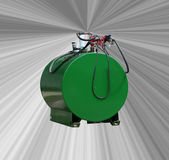 Diesel- behållare arkivfoton
