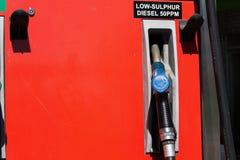 Diesel- bränsle för gas Royaltyfri Fotografi