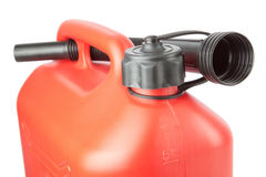 Diesel Canister jerrycan with a watering can. Royalty Free Stock Images