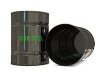 Diesel crisis Stock Images