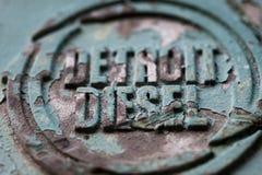 Diesel de Detroid photo libre de droits