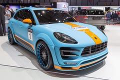 Diesel 2015 de Hamann Porsche Macan S Photographie stock libre de droits