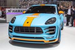 Diesel 2015 de Hamann Porsche Macan S Images libres de droits
