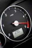 Diesel del tachimetro Fotografie Stock