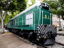Diesel Electric Engine Train No.51 stock photography