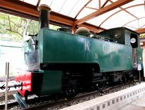 Diesel Electric Engine Train No.51 Royalty Free Stock Photography