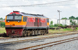 Diesel electric locomotive Royalty Free Stock Photography