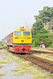 Diesel electric  locomotive Stock Photos
