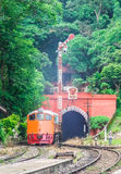 Diesel electric locomotive Royalty Free Stock Photo