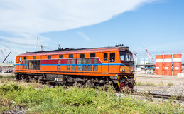 Diesel Electric Locomotive Stock Image