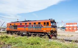Diesel Electric Locomotive Stock Image