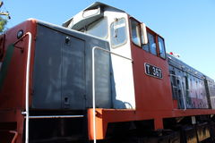 Diesel-Electric Locomotive T 387 Stock Photos