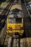 Diesel Electric locomotives. BANGKOK, THAILAND - AUGUST 12 : Diesel Electric locomotives at Samsen Station on August 12, 2016 in Bangkok,Thailand Stock Image