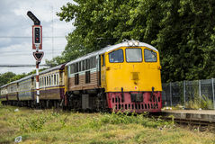 Diesel Electric locomotives Royalty Free Stock Images
