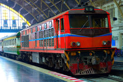 The Diesel Electric Locomotives of Thailand Royalty Free Stock Photo