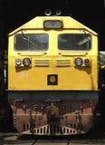 Diesel elektrische locomotief Stock Foto's