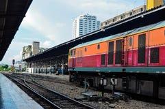 diesel- elektrisk lokomotiv Royaltyfria Bilder