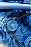 Diesel engine. Brand new marine diesel engine from a boat Royalty Free Stock Photos