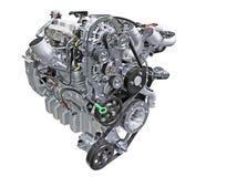 Diesel engine. Close up shot of turbo diesel engine stock images