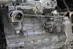 Diesel engine. Detail stock photo
