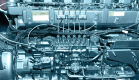 Diesel engine Royalty Free Stock Images