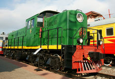 Diesel engine - the locomotive Royalty Free Stock Photography