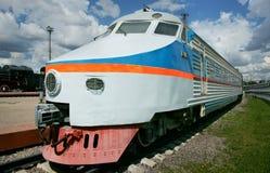 Diesel engine - the locomotive Stock Photo