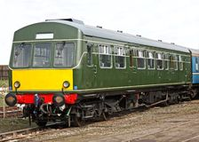 Diesel Engine Multiple Unit. Royalty Free Stock Photo