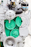 Diesel engine section Stock Images
