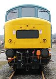 Diesel Engine Train. Royalty Free Stock Image