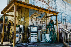 A diesel filling station in Florida Stock Photo