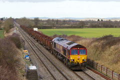 Diesel freight train Royalty Free Stock Photography