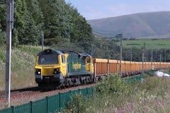 diesel- freightlinerlokomotiv för 70 grupp Arkivbilder