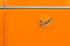 Diesel Fuel Hatch Royalty Free Stock Photos