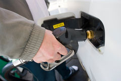 Diesel fuel nozzle Stock Image
