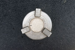 Diesel fuel tank cap Royalty Free Stock Image