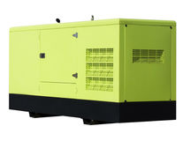 Diesel generator 03. Diesel Generator on white background Royalty Free Stock Photography