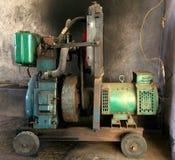 Diesel generator. For light Stock Images