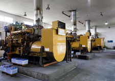 Diesel Generators Royalty Free Stock Images