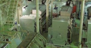 Diesel generators stock footage