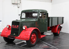 Diesel- lastbil för MAN från 1955 Royaltyfri Foto