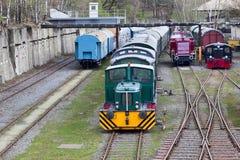 Diesel Locomotief Stock Foto's