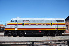 Diesel Locomotive Royalty Free Stock Photos