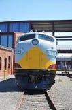 Diesel Locomotive. At Steamtown National Historic Site in Scranton, Pennsylvania Stock Photos