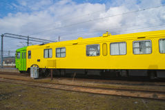 Diesel locomotive Royalty Free Stock Image