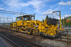 Diesel locomotive Stock Images