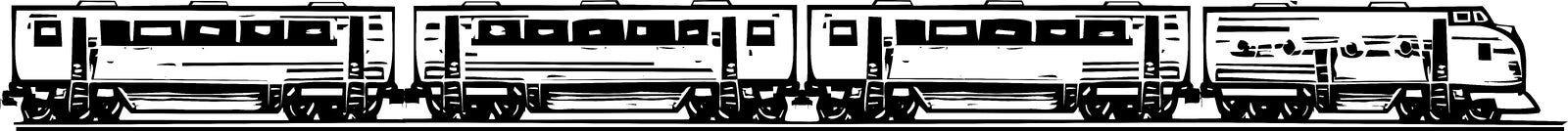 Diesel Locomotive Stock Image