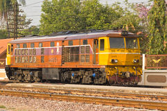 Diesel locomotive electric No.4405 Stock Photos