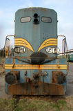 Diesel locomotive Stock Image